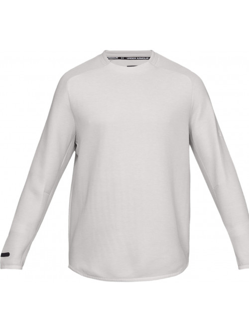Herren Sweatshirt Under Armour Unstoppable Move Crew Weiß
