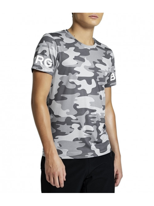 T-Shirt  Björn Borg Tee La Clouds Grey armee