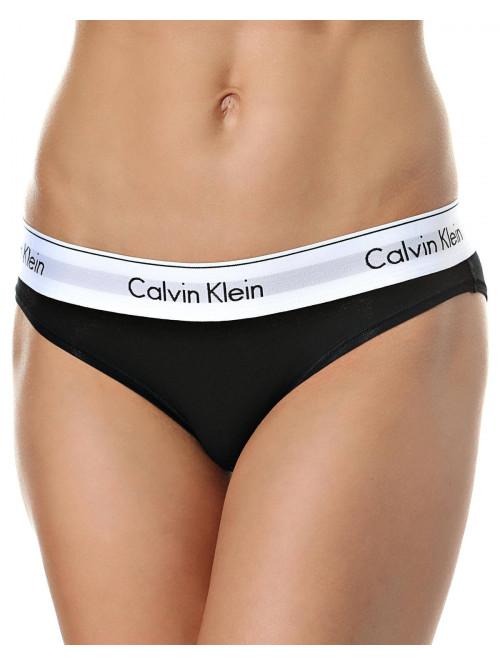 Damen Höschen Calvin Klein Modern Cotton Bikini schwarz
