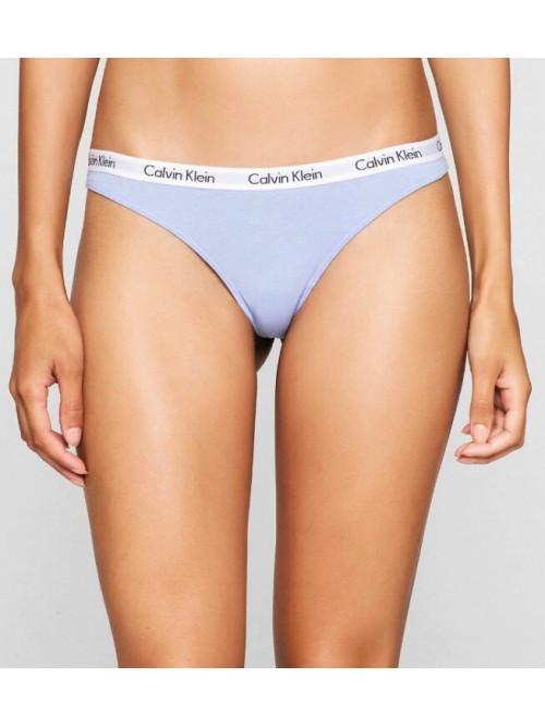 Damen Höschen Calvin Klein Carousel Thong Grau-Blau
