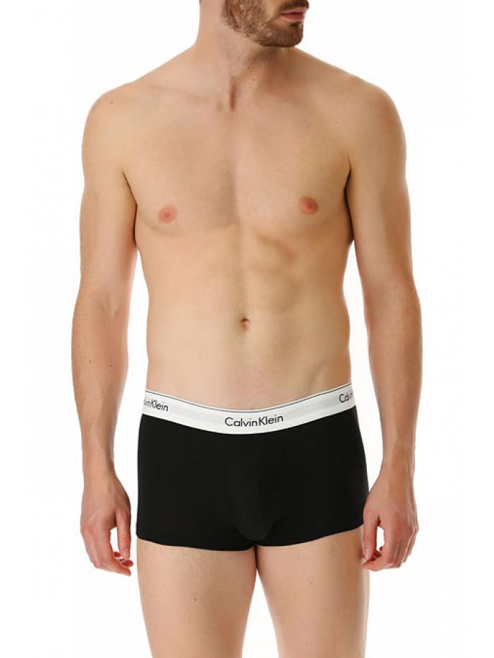Herren Boxershorts Calvin Klein Modern Cotton Stretch schwarz 2-pack