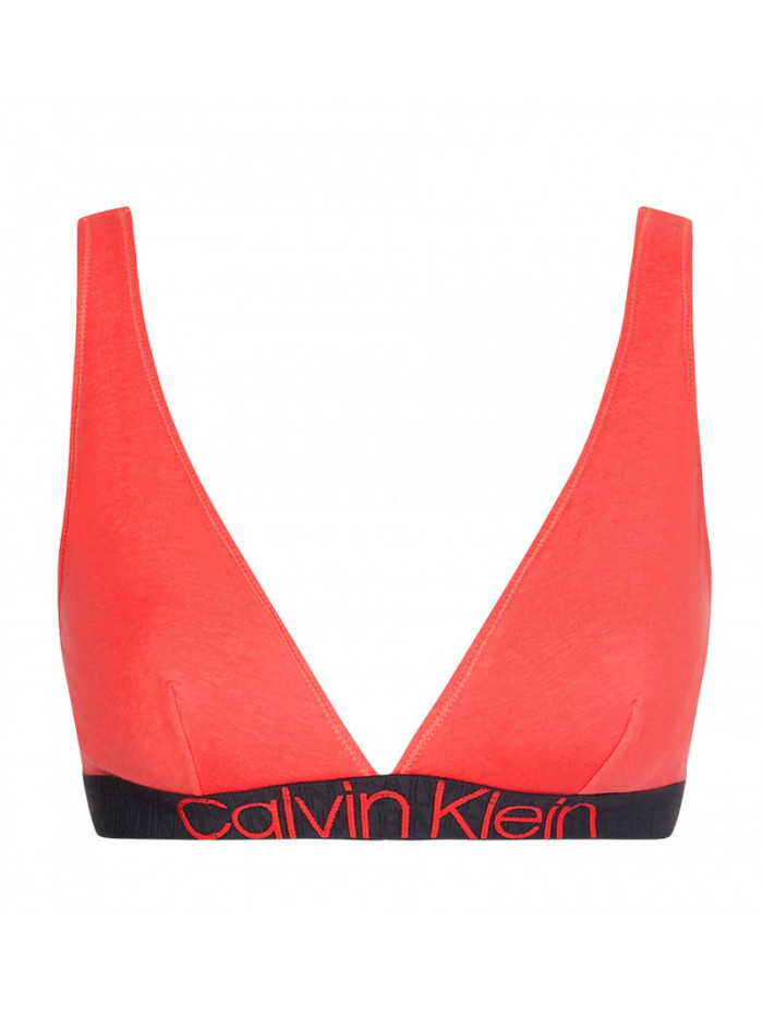 Damen BH Calvin Klein Unlined Triangle Rot