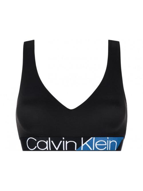 Damen Sport-BH Calvin Klein Light Line Bralette Schwarz
