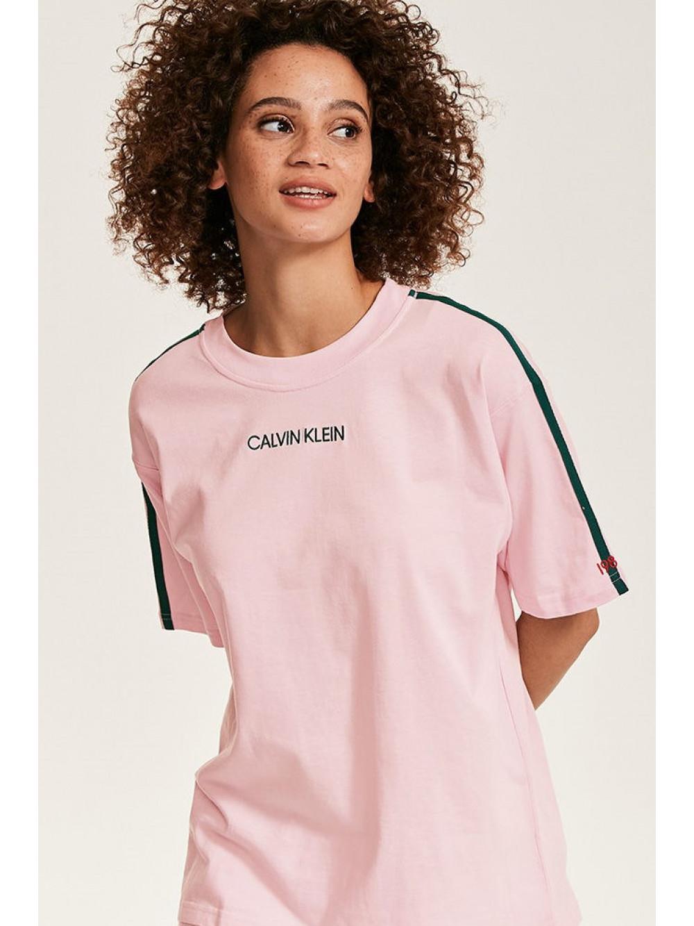 calvin klein t shirt damen rosa
