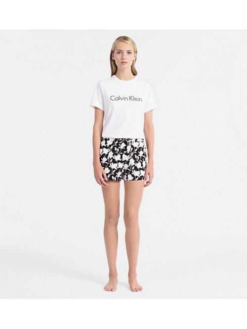 Damen T-Shirt Calvin Klein SS Crew Neck weiß