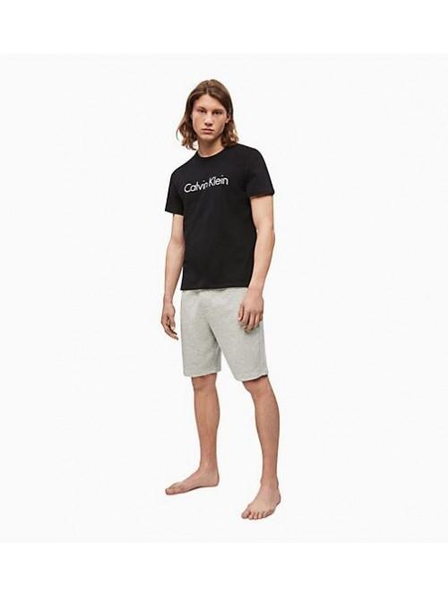 Herren T-Shirt Calvin Klein Comfort Cotton SS Crew Neck Schwarz