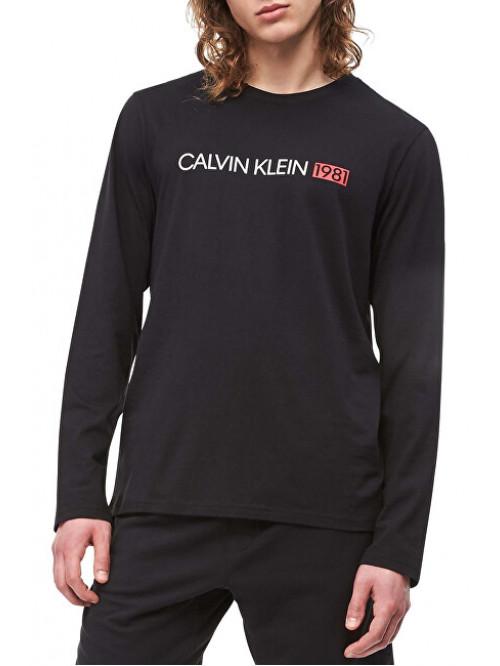 Herren T-Shirt Calvin Klein Crew Neck 1981 Schwarz