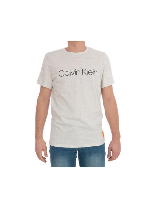 Herren T-Shirt Calvin Klein SS Crew Neck beige