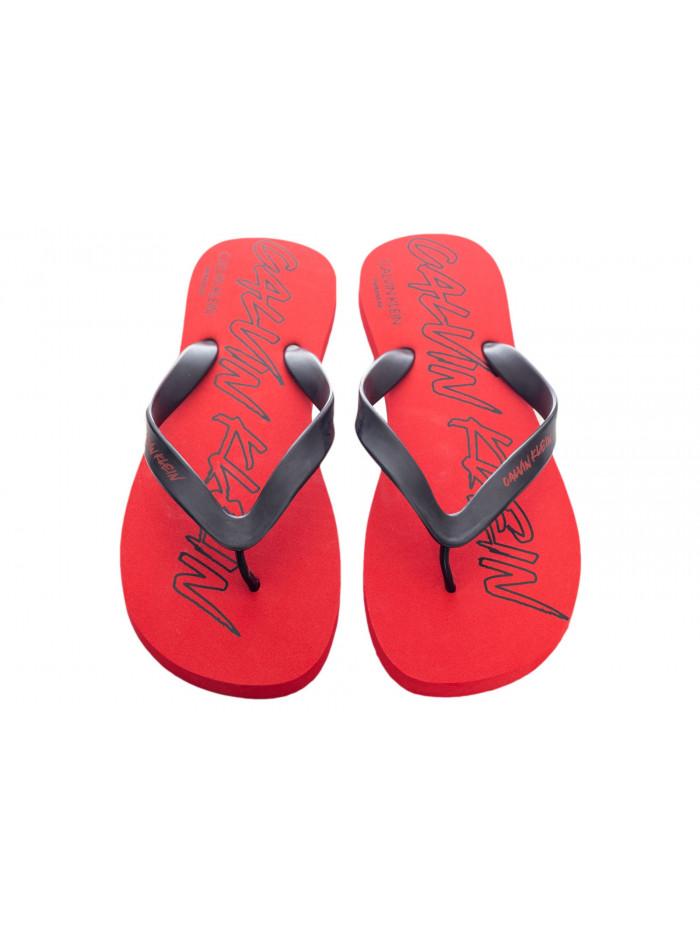 Herren Flip-Flops Calvin Klein Risk Rot