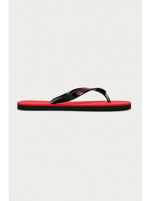 Herren Flip-Flops Calvin Klein Swimwear Rot