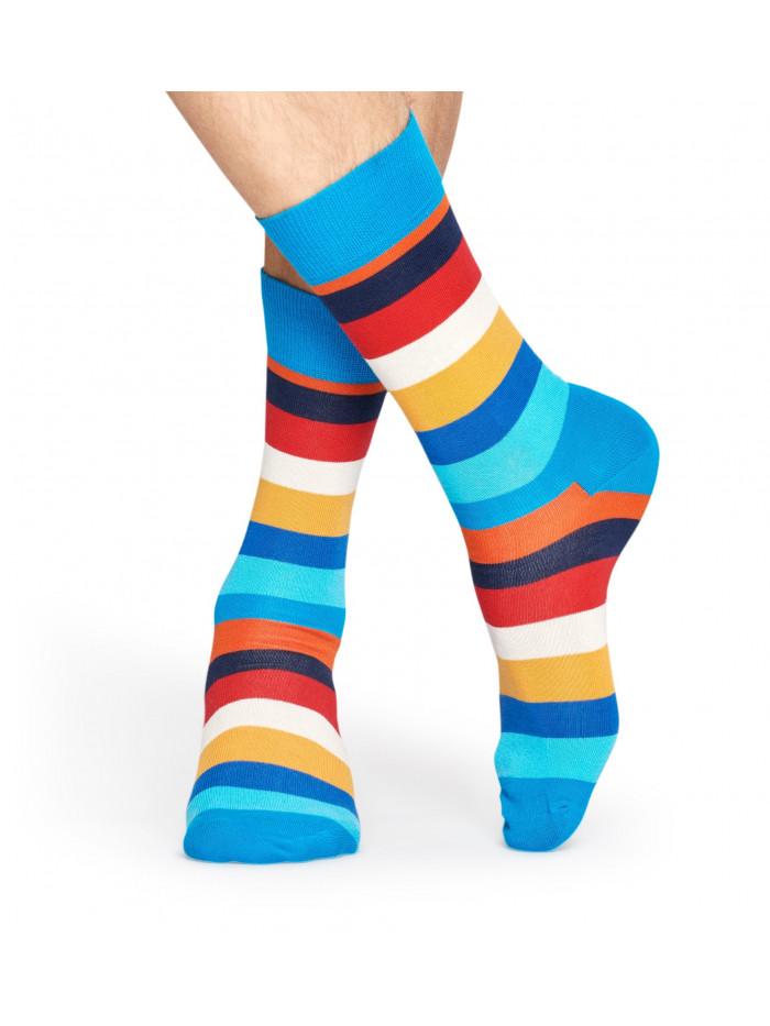 Socken Happy Socks Stripe Blau