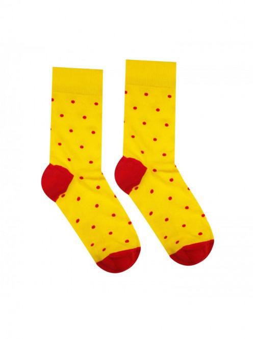 Socken Gentleman - Gelb