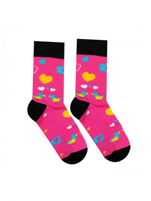 Socken Tauben