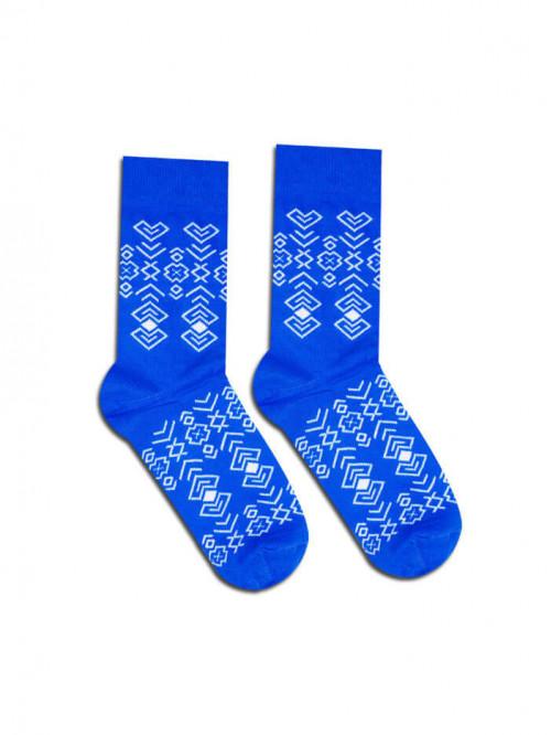 Socken Čičman - Blau