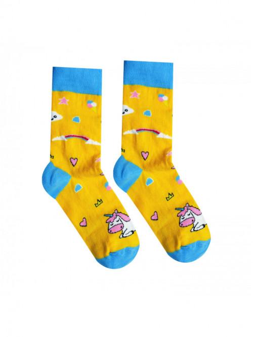 Socken Einhorn