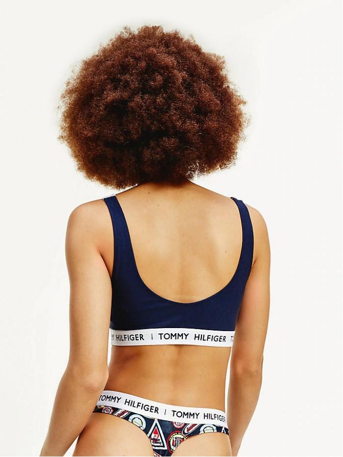 Damen BH Tommy Hilfiger Badge Print Logo Bunte