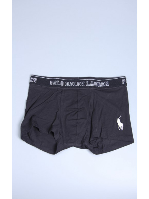 Herren Boxer Polo Ralph Lauren Classic Trunk Polo Schwarz