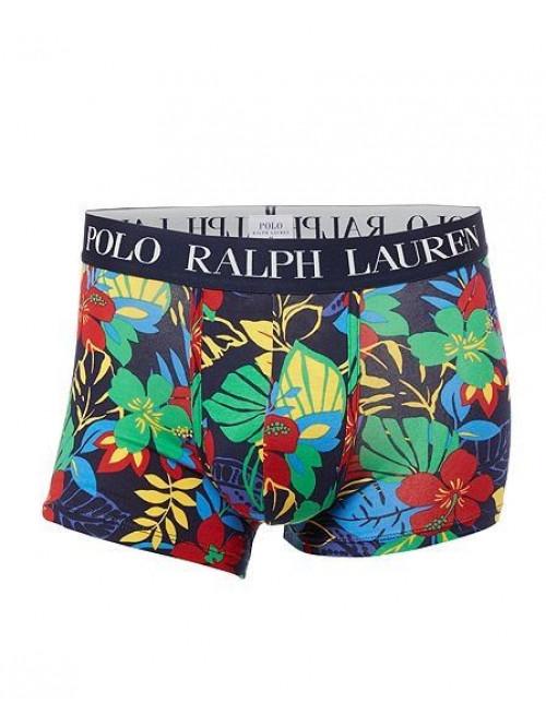 Herren Boxer Polo Ralph Lauren Cruise Navy Hibiscus Bunte