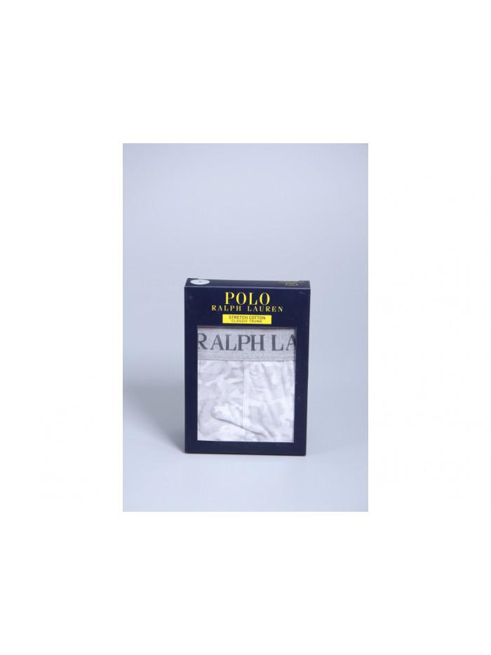 Herren Boxer Polo Ralph Lauren Classic Trunk Grey Digital Camo Grau