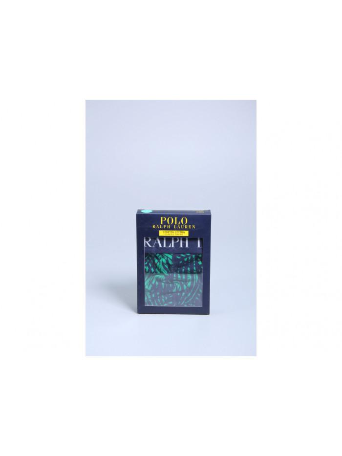 Herren Boxer Polo Ralph Lauren Classic Trunk Palm Print English Grün
