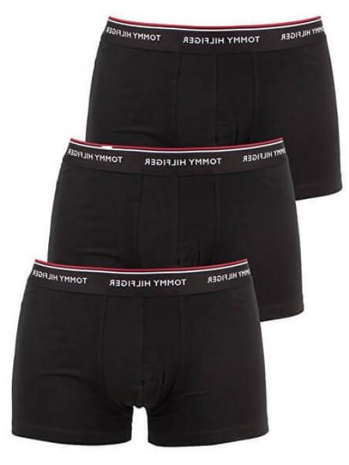 Herren Boxershorts Tommy Hilfiger Premium Essentials Schwarz 3-pack