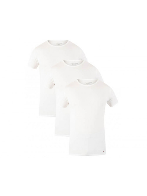 Herren T-Shirts Tommy Hilfiger C-Neck Tee SS Weiß 3-pack