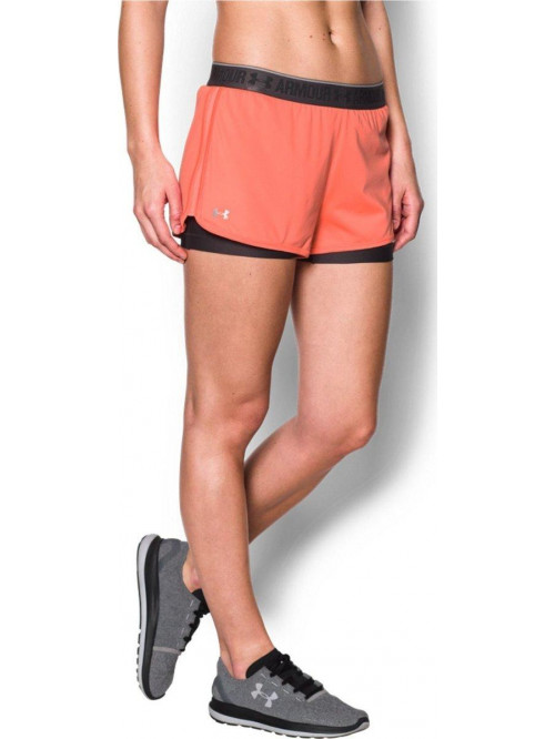 Damen Shorts Under Armour HG 2 v 1 Orange
