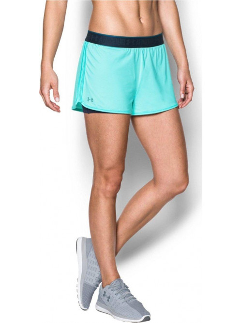 Damen Shorts Under Armour HG 2 v 1 Türkis