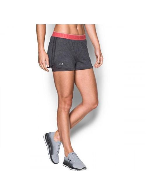 Damen Shorts Under Armour HG 2 v 1 Grau