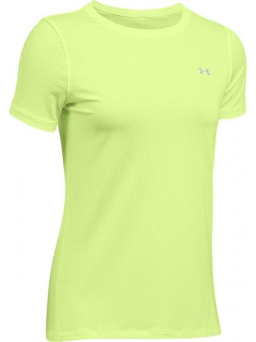 Damen T-shirt Under Armour HG Gelb