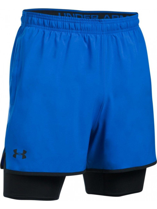Herren Shorts Under Armour 2 v 1 dunkelblau