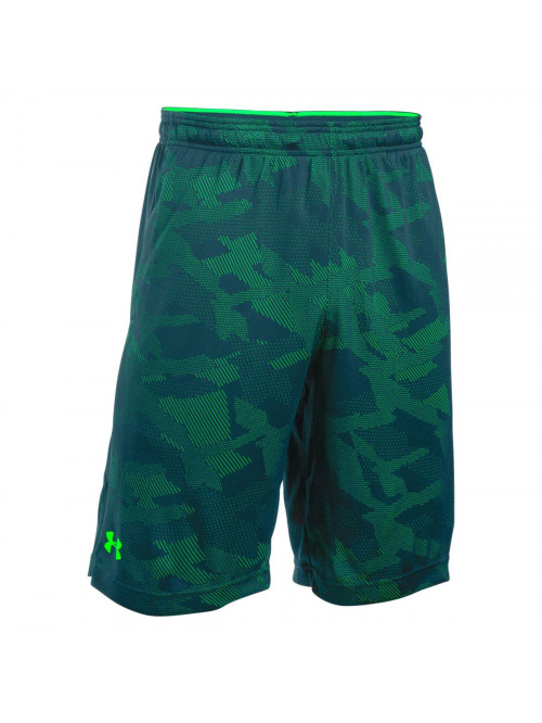Herren Shorts Under Armour Jacquard grün