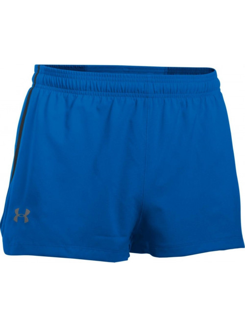 Herren Shorts Under Armour Launch Split blau
