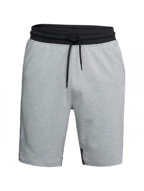 Herren Shorts Under Armour Microthread Terry grau