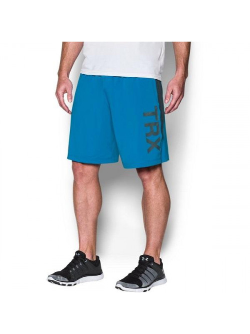 Herren Shorts Under Armour TRX blau