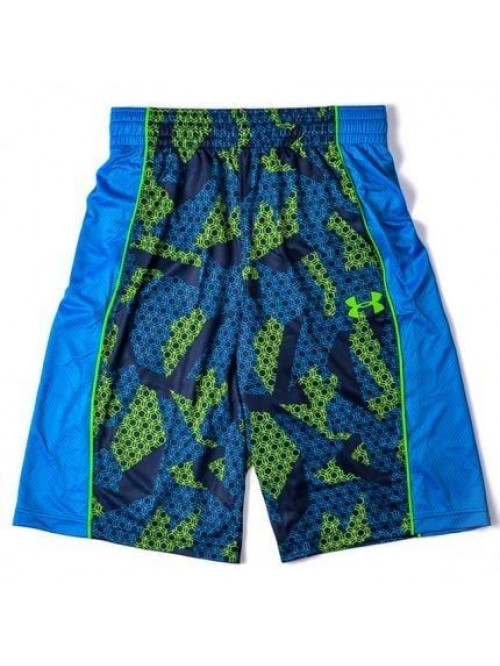 Herren Basketballshorts Under Armour Court Vader blau