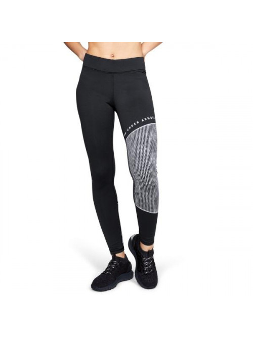 Damen schwarzen Leggings Under Armour ColdGear