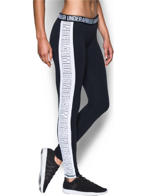 Damen Leggings Under Armour Wordmark schwarz