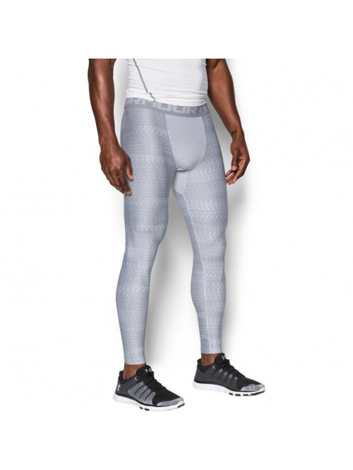 Herren kompression Leggings Under Armour Novlty Weiß