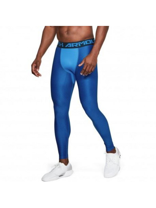 Herren kompression Leggings Under Armour Novlty Blau