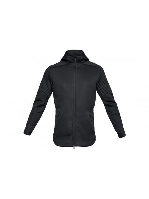 Herren Sweatshirt Under Armour Unstoppable Move FZ Hoodie Schwarz