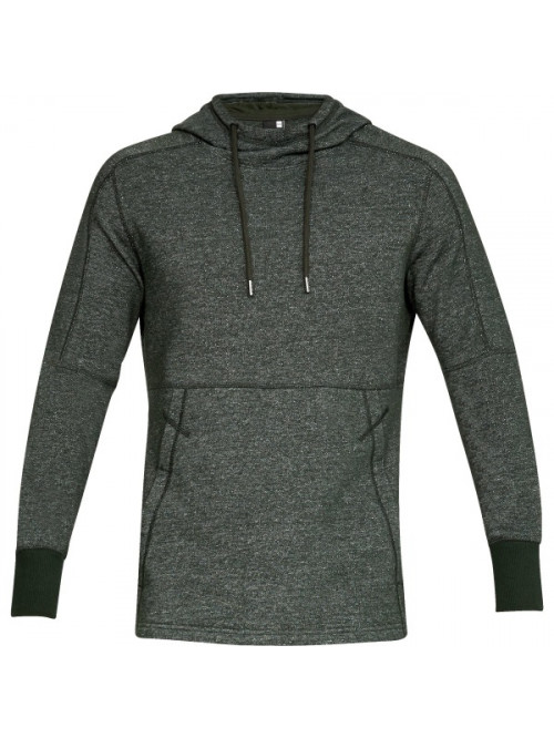Herren Sweatshirt Under Armour Sportstyle Speckle Terry Hoodie Grün