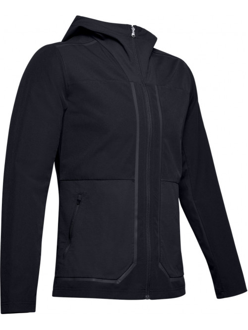 Herren Trainingsjacke Under Armour Perpetual Schwarz