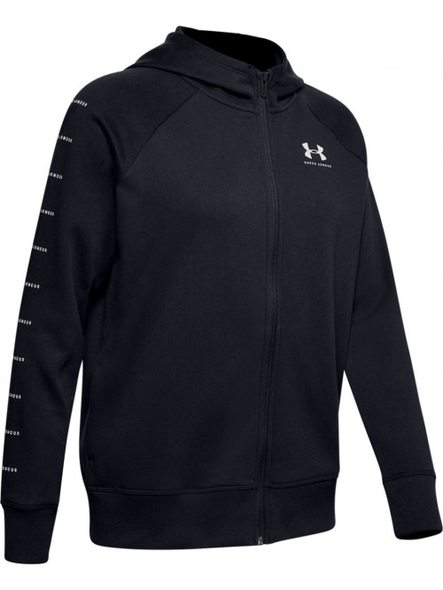 Damen Sweatshirt Under Armour Rival Fleece Sportstyle Schwarz