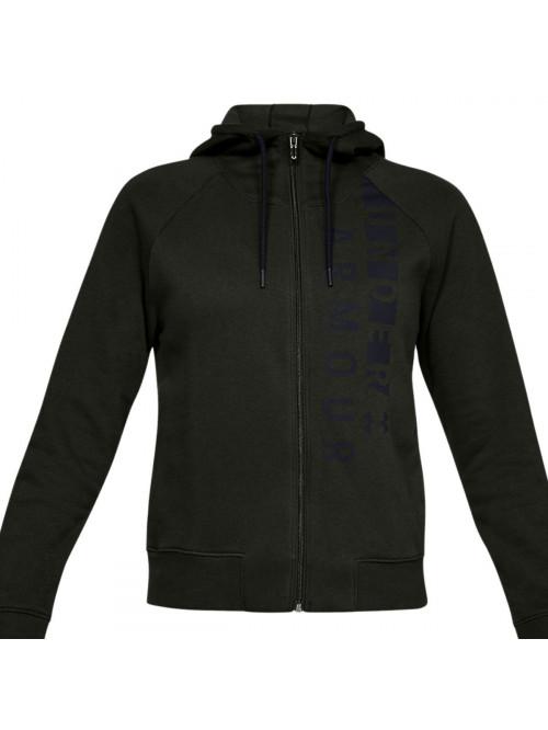 Damen Sweatshirt Under Armour Cotton Fleece Dunkelgrün