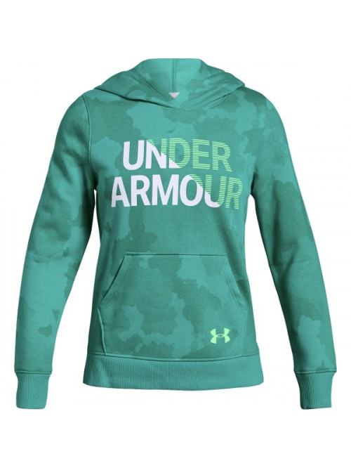 Mädchen Sweatshirt Under Armour Rival Hoody Grün