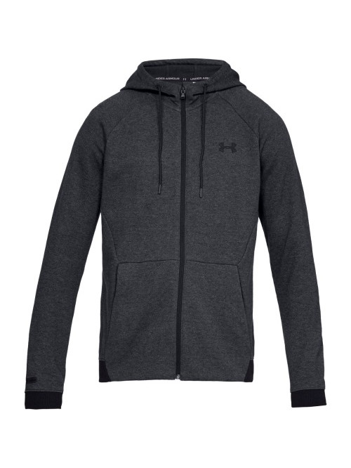 Herren Sweatshirt Under Armour Unstoppable 2X KNIT FZ Schwarz