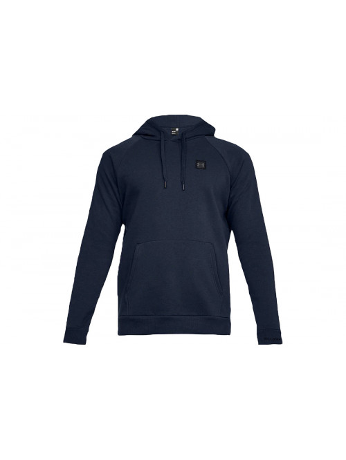 Herren Sweatshirt Under Armour RIVAL FLEECE PO HOODIE Marine