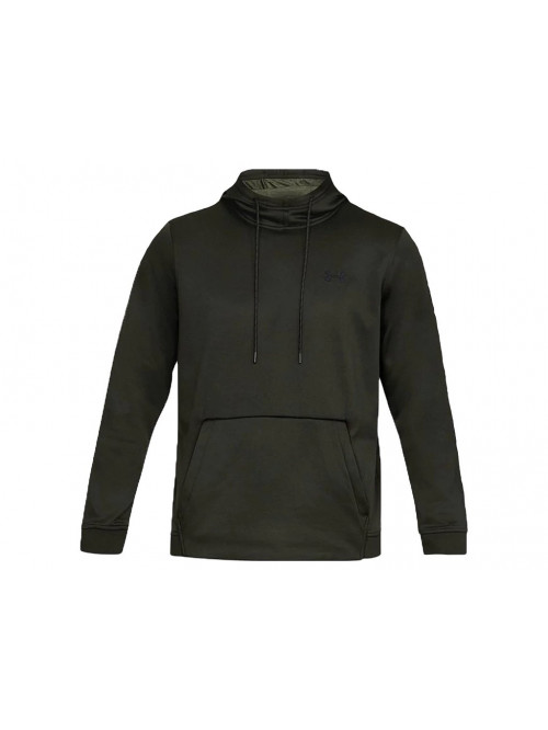 Herren Sweatshirt Under Armour Fleece PO Hoodie Schwarz
