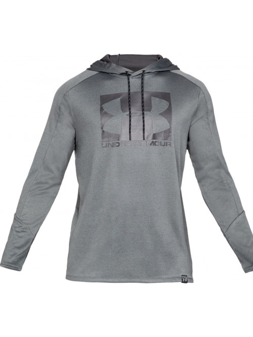 Herren Sweatshirt Under Armour Lighter Longer Hoodie Grau